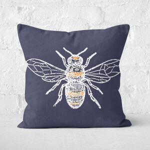 Bee Square Cushion