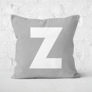 Letter Z Square Cushion