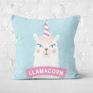 Llamacorn Square Cushion