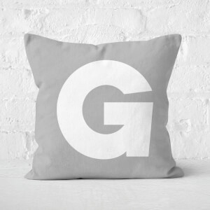 Letter G Square Cushion