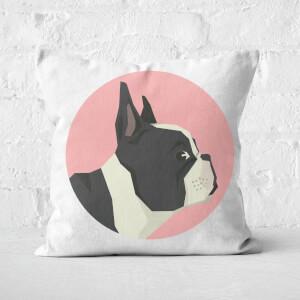 French Bulldog Square Cushion