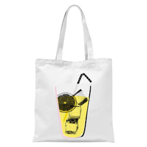 Lemonade Tote Bag - White