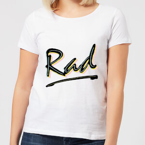 Rad Women's T-Shirt - White