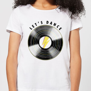 Let's Dance Women's T-Shirt - White