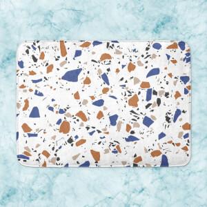 Multi Colour Terrazzo Pattern Bath Mat