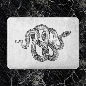 Knotted Snake Bath Mat