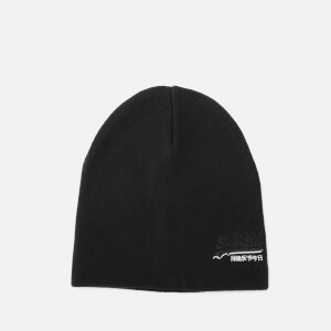 Superdry Men's Orange Label Beanie - Black
