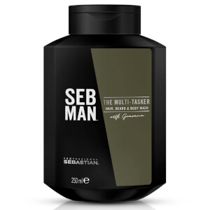 SEB MAN The Multi-Tasker Hair Beard and Body Wash 250ml