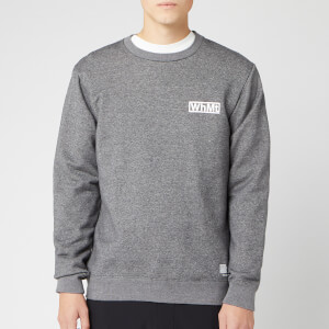 White Mountaineering Men's Logo Printed Sweatshirt - Charcoal