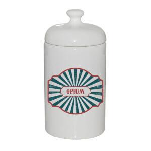 Opium Ceramic Jar