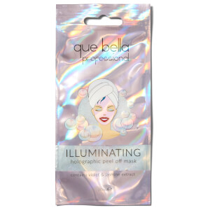Que Bella Professional Illuminating Holographic Peel off Mask