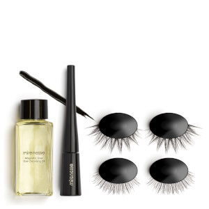 mirenesse Magnomatic Magnetic Eyeliner with Reusable Magnetic Lashes Day and Night Kit - Natural Audrey