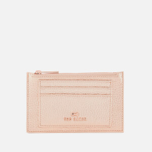 Ted Baker Women's Yarro Two Sided Zipped Card Holder - Rosegold