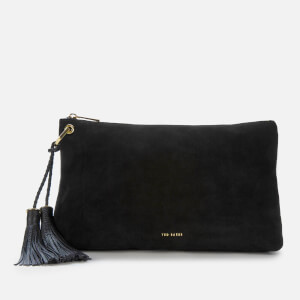 Ted Baker Women's Deseree Double Tassel Clutch Bag - Black