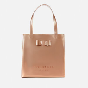 Ted Baker Women's Silicon Bow Detail Small Icon Bag - Rosegold