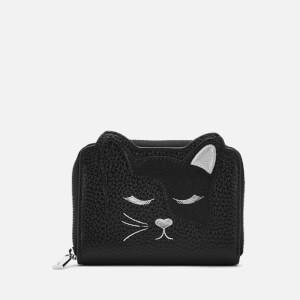 Ted Baker Women's Eirah Cat Zip Around Small Purse - Black