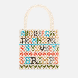 Shrimps Women's Hera Letters Beaded Bag - Multi