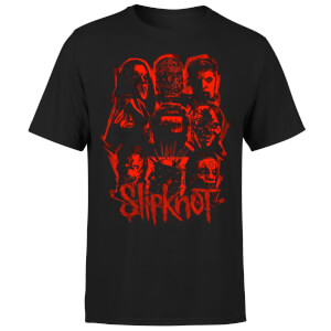 Slipknot Patch T-Shirt - Black