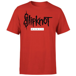 Slipknot W.A.N.Y.K T-Shirt - Red