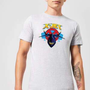 Marvel X-Men X-Jet Men's T-Shirt - Grey