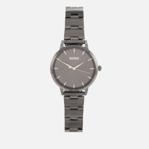 BOSS Hugo Boss Women's Marina Metal Strap Watch - Rouge/Black