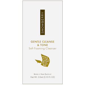 Snowberry GENTLE Cleanse and Tone Soft Foaming Cleanser 3ml