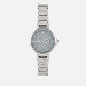 Tommy Hilfiger Women's Angela Metal Strap Watch - Silver
