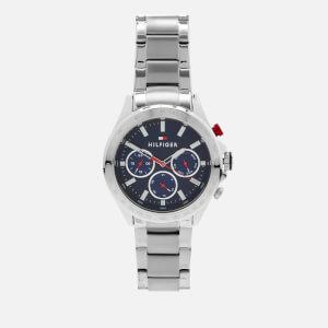 Tommy Hilfiger Men's Hudson Metal Strap Watch - Rou Blue