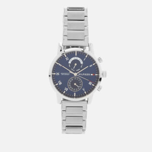 Tommy Hilfiger Men's Kane Metal Strap Watch - Silver