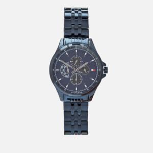 Tommy Hilfiger Men's Shawn Metal Strap Watch - Rou Blue