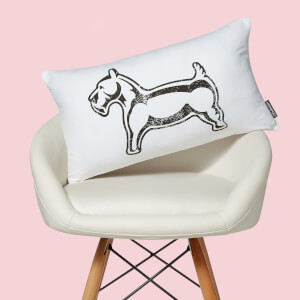 Monopoly Dog Rectangular Cushion