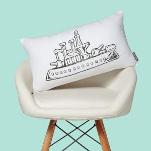 Monopoly Ship Rectangular Cushion