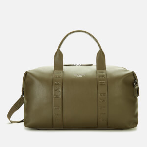 Ted Baker Men's Hungar Debossed Holdall Bag - Olive