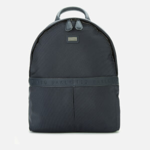 Ted Baker Men's Visor Branded Nylon Backpack - Navy