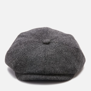 Ted Baker Men's Pallion Wool Baker Boy Cap - Charcoal