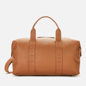 Ted Baker Men's Hungar Debossed Holdall Bag - Tan