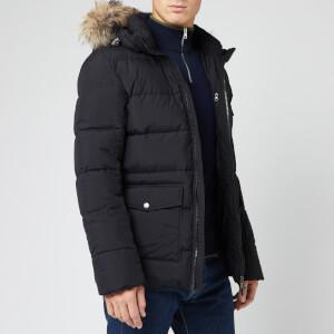 Pyrenex Men's Authentic Matte Fur Jacket - Black