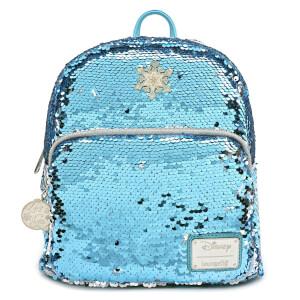 Loungefly Disney Frozen Elsa Reversible Sequin Mini Backpack