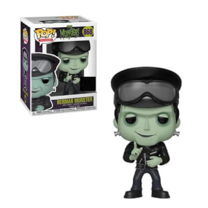 The Munsters - Biker Herman EXC Figura Pop! Vinyl