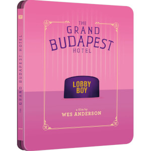 Exclusivité Zavvi : Steelbook The Grand Budapest Hotel