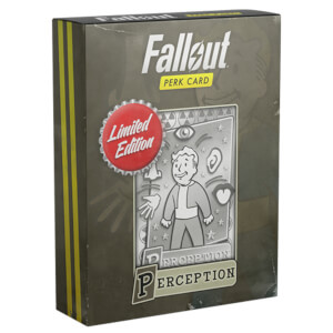 Fallout Limited Edition Perk Card - Perception (#2 out of 7)