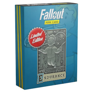 Fallout Limited Edition Perk Card - Endurance (#3 out of 7)