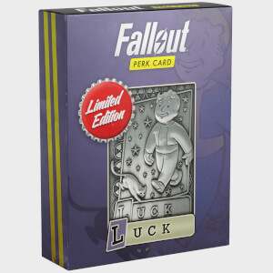 Fallout Limited Edition Perk Card - Luck (#7 out of 7)
