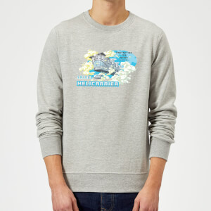 Marvel S.H.I.E.L.D. Helicarrier Mobile HQ Sweatshirt - Grey