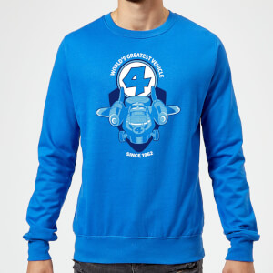 Marvel Fantastic Four Fantasticar Sweatshirt - Royal Blue