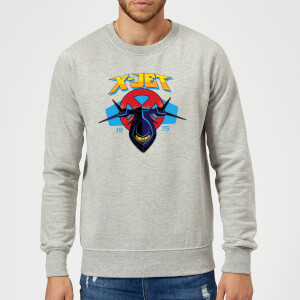 Marvel X-Men X-Jet Sweatshirt - Grey