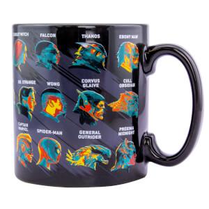 Avengers Endgame Large Glossary Mug