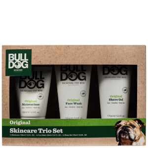 Bulldog Skincare Trio Set (Worth £14.00)