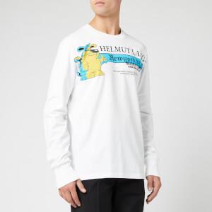 Helmut Lang Men's Pz Radio Long Sleeve T-Shirt - Chalk White