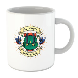 Vintage Old School Backpacker Mug